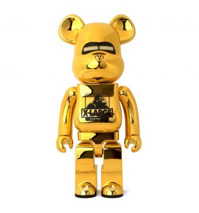 Sculpture bearbrick 1000% XLARGE x Hajime Sorayama Gold