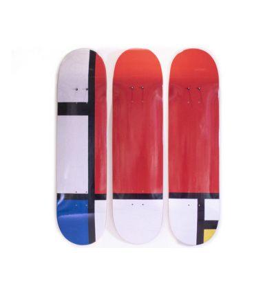 Amadeo Modigliani Skateboard Polyptych – Nu Couché (1917-1918)