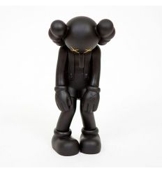 Sculpture Small Lie (Black) by KAWS x Medicom Toys