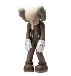 Sculpture Small Lie (Brown) by KAWS x Medicom Toys