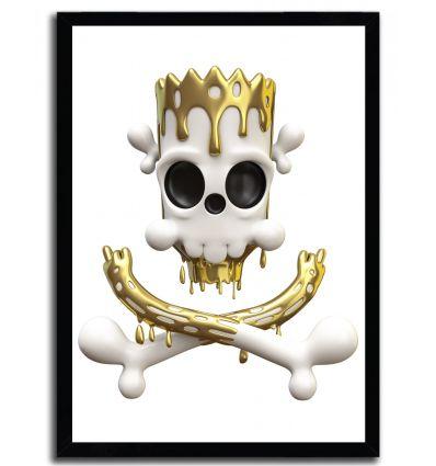 Affiche badwolf pimpskull par Theodoru