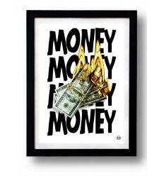 Affiche MONEY par Rubiant