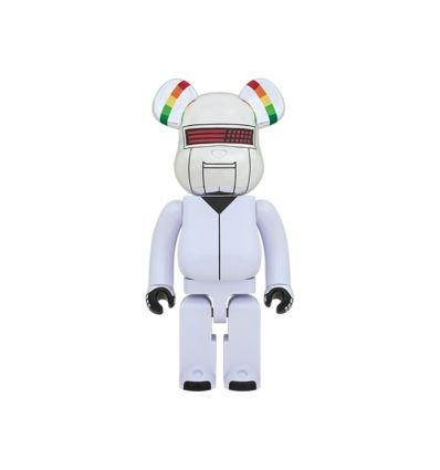 Sculpture bearbrick 1000%Daft Punk Discovery Bangalter 1000%