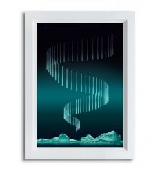 Affiche COLD WAVE par Rubiant