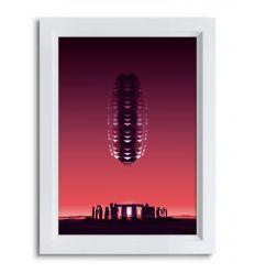 Affiche SPACE STONES par Rubiant