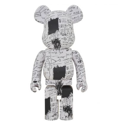 Sculpture bearbrick 1000%- Jean-Michel Basquiat V3