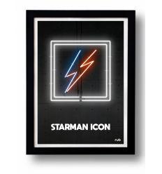 Affiche STARMAN ICON by RUB