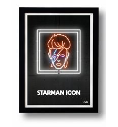 Affiche STARMAN 2 ICON by RUB