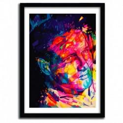 Affiche PAUL NEWMAN par Alessandro Pautasso