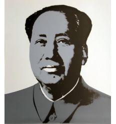 Mao Grey Art Print by Andy Warhol