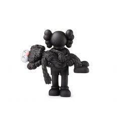 Gone Companion Black and BFF Black by KAWS