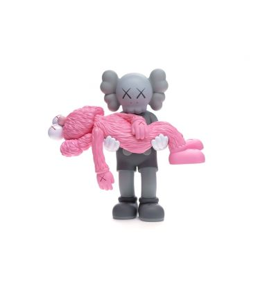 Sculpture Gone Companion Black and BFF Black by KAWS