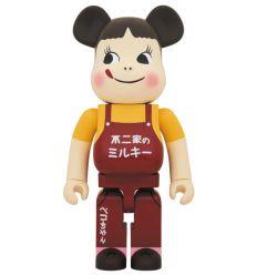 Sculpture Bearbrick 1000% Fujiya Milky Peko Chan (Vintage)