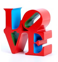 Sculpture Love Red by Robert Indiana