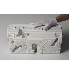 Sculpture FUTURE RELIC 08: BOOMBOX STEREO by DANIEL ARSHAM