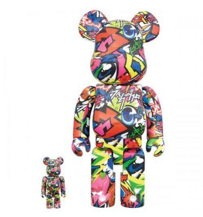 400% & 100% Bearbrick set - Fantasista Utamaro
