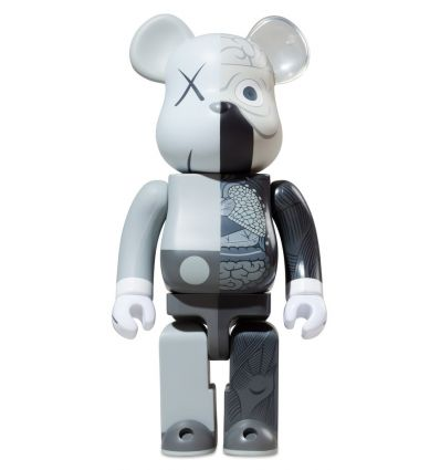 Bearbrick Dissected Kaws Gray 400% Edition 2010