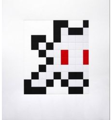 Print Half Little Big Space by Invader