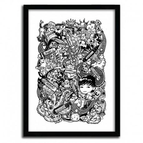 Affiche Doodle Pens by Lei Melendres