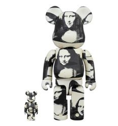 Sculpture 400% & 100% Bearbrick Andy Warhol Last Supper