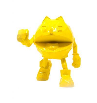 Sculpture Pac Man Yellow by Richard Orlinski