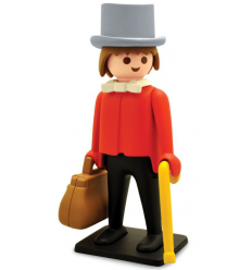 Sculpture Banker by Playmobil