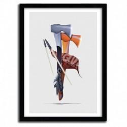 Affiche CONQUER by DAVID DELIN