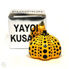 Sculpture Pumpkin yellow by YAYOI KUSAMA