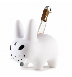 Sculpture Backstab Smorkin Labbit by Frank Kozik
