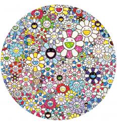 Print CELESTIAL FLOWERS by TAKASHI MURAKAMI