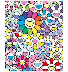 Print FLOWERS OF HOPE by TAKASHI MURAKAMI