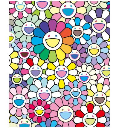 Print FLOWERS OF HOPE by TAKASHI MURAKAMI