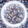 Print ENSO: MEMENTO MORI RED ON BLUE by TAKASHI MURAKAMI