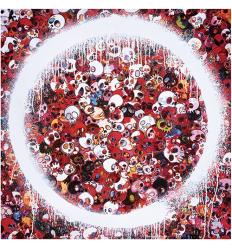 ENSO: MEMENTO MORI RED by TAKASHI MURAKAMI