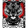 Affiche Tiger par Ali Gulec