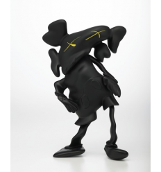 Sculpture LAZZARINI COMPANION BLACK by Kaws
