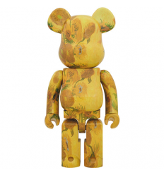 Sculpture 1000% Bearbrick - Vincent Van Gogh Sunflowers