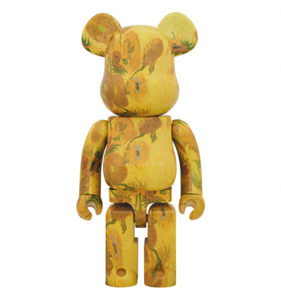 Sculpture 1000% Bearbrick - Vincent Van Gogh Sunflowers
