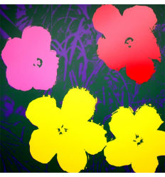 Flowers 11.65 Art Print by Andy Warhol