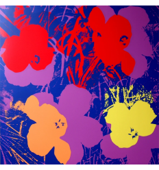 Flowers 11.66 Art Print by Andy Warhol