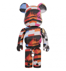 Sculpture 1000% Bearbrick Elmo