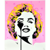 Affiche I dream of Marilyn - Pink Splash by PURE EVIL