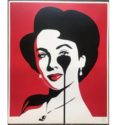 Affiche Liz Loves Richard Red by PURE EVIL