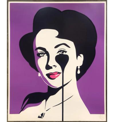 Affiche Liz Loves Richard Violet by PURE EVIL