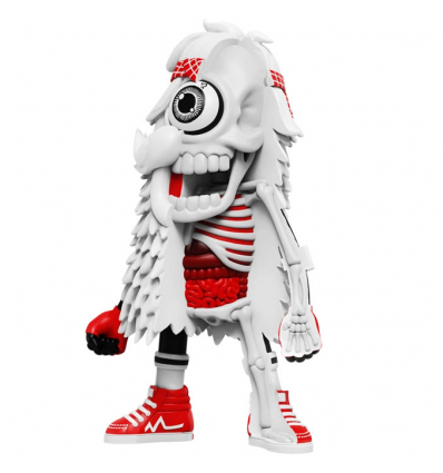 Sculpture Dissected Mister HellYeah (White) by MAMAFAKA x Jason Freeny