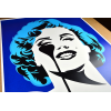 Affiche I Dream of Marilyn (Glacier Blue Hair) by PURE EVIL