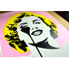 Affiche I Dream of Marilyn (Golden Yellow Hair) by PURE EVIL