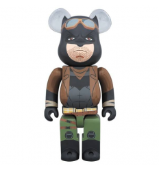 Sculpture bearbrick 400% Knightmare Batman (Batman vs Superman)