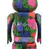 Sculpture bearbrick 1000% jackson pollock 2nd edition by Medicom Toys