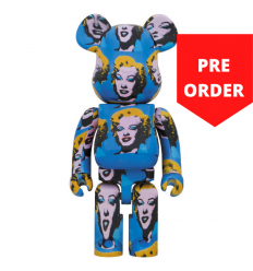 Sculpture 1000% Bearbrick - Andy Warhol Marilyn Monroe [PRE-ORDER]